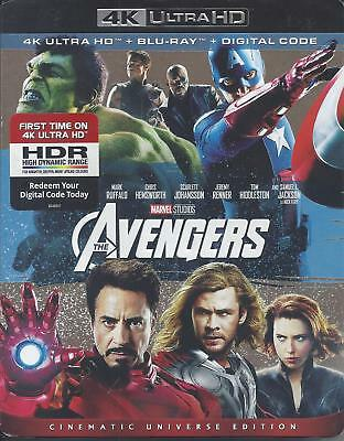 The Avengers (4K Ultra Hd/Bluray)(2 Disc Set)(Used)