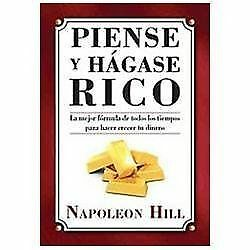 Piense Y Hagase Rico / Think And Grow Rich - Hill, Napoleon - New Paperback Book