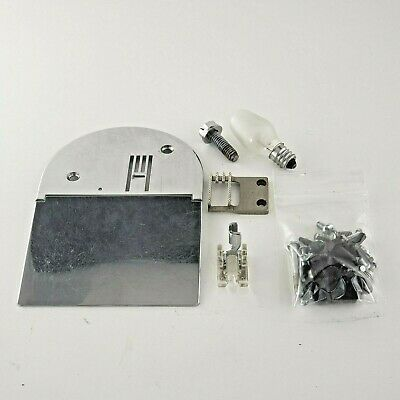 Janome New Home 556 Accessories & Attachments - Slide & Throat Plate, bulb, etc.