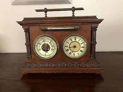 Carriage Clock, Barometer & Thermometer