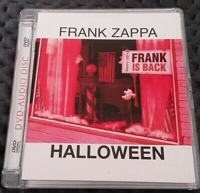"FRANK ZAPPA 5.1 surround DVD Audio DTS nm ""HALLOWEEN"" Live in NYC 1978 + extras!"