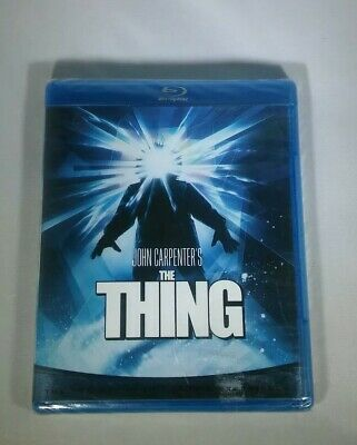 New Blu Ray DVD The Thing John Carpenters Sealed