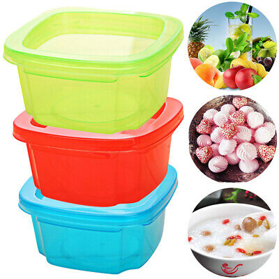 Portable Baby Food Storage Container Mini Healthy Fruit Eco-friendly 3 Colors