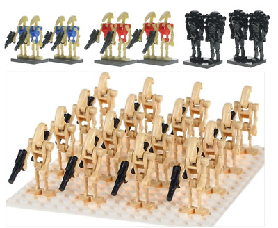 LEGO Compatible Star Wars Minifigures Battle Droid Army Qty 4 12 20