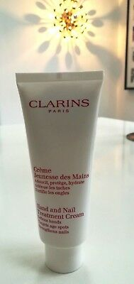 NEW Clarins Hands Hand & Nail Treatment Cream 100ml  LIMITED TIME OFFER!!!