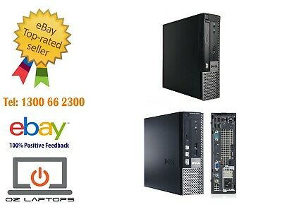 Dell OptiPlex 9020 USFF i5 4570s 2.9GHz Quad Core Win10