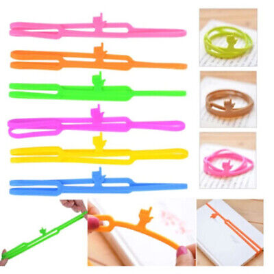 1Pc Silicone Finger Pointing Bookmark Book Marker Office Supply~JP