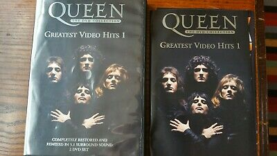 Queen - Greatest Video Hits 1  (DVD, 2002, 2-Disc Set)  with booklet  region 0