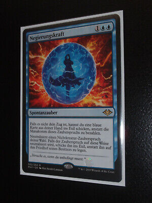 Magic 1x Force of Negation / Negierungskraft Modern Horizons german mint MTG
