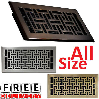Floor Register Design Vent Cover Steel 2x12 3x10 6x10 6x12 6x14 4x10 4x12 4x14