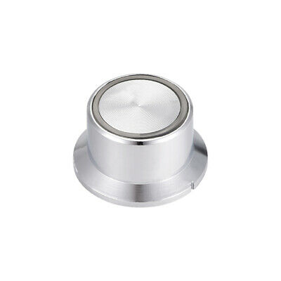 6mm Potentiometer Control Knobs For Guitar Volume Tone Knobs Silver Tone 1pcs