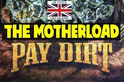 "GOLD PAY DIRT 3 lbs or 1360gr ""THE MOTHERLOAD"" Nuff said.  🇬🇧 🇬🇧 🇬🇧"