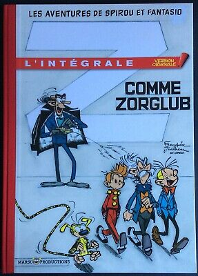 Spirou and Fantasio Integral Z as Zhang 2200 Ex. 2012 Mint