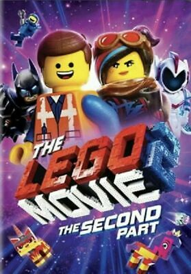 The Lego Movie 2: The Second Part (DVD 2019) USA SELLER FREE SHIPPING
