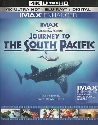 Journey To The South Pacific (Imax Enhanced) (4K Ultra Hd/Bluray)(2 Disc Set)