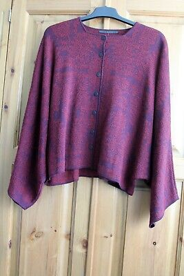 Exquisite Peruvian Connection Baby Alpaca and Wool Knitted Nazca Jacket
