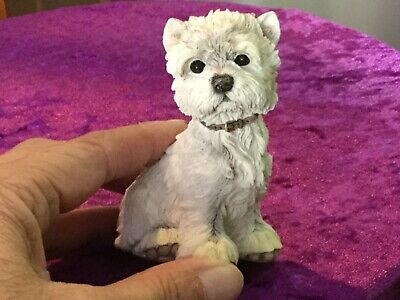 Country Artists Paw Prints Westie West Highland Terrier Puppy 90788 8cms