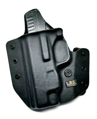 LAG Tactical Defender IWB OWB Kydex Holster LH Black for Springfield Armory XDS