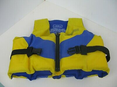Floaties Childs 2-4 yrs 20KG  Flotation Vest Swimming Aid vest yellow/blue