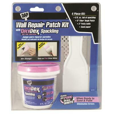 Patch-N-Paint Wall Repair Patch Kit DAP DryDex 8-fl oz White Spackling