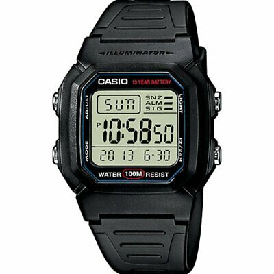 Reloj Digital Unisex negro retro