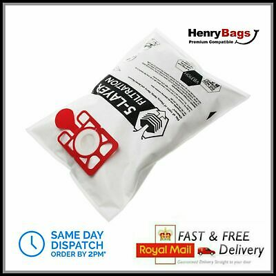 Bags to fit Numatic Henry Hetty James Hoover Bags Vacuum Cleaner Cloth Hepa Flo