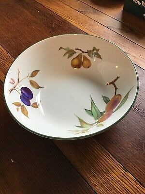 Royal Worcester Evesham Vale Fruit/serving Bowl  25cm