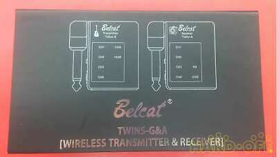 Belcat Twins Ga Guitar Wireless System
