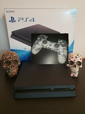 Playstation 4 ps4 SLIM 1TB + 24 GIOCHI + DayZ + FIFA 19+JOYPAD V2+12 MESI PLUS