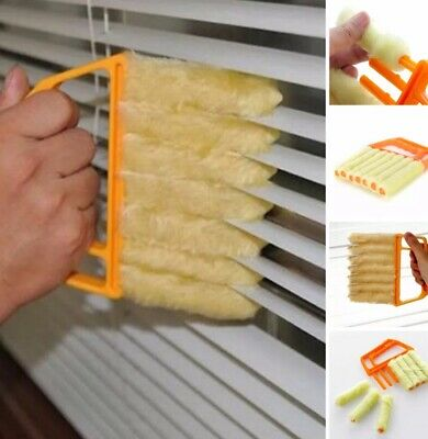 7 Brush Venetian Blind Cleaner Washable Easy Cleaning Tool Duster Microfibre