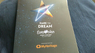 2019 Eurovision Song Contest Tel Aviv - Official Programme Book - 130 pages A4