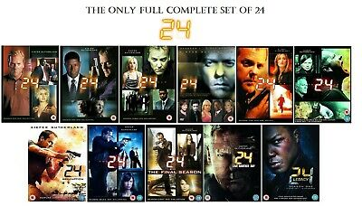 complete 24 season 1 2 3 4 5 6 7 8 9 10 11 inc Redemption / Another Day / Legacy