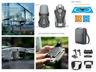 DJI Mavic 2 Pro Accessories Must Have Fly Kit Landing Gear Pad Case And More