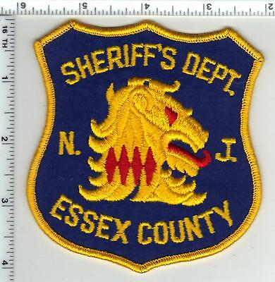 Essex County Sheriff's Dept. (New Jersey) 1st Issue Right Shoulder Patch