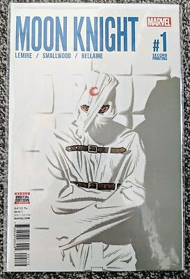 Moon Knight (Vol 8) #1 Marvel Comic Book 2nd Print FREE P+P
