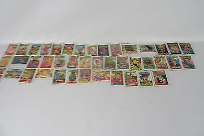 Vintage Trash Can Trolls Lot of 164 Cards Stickers Garbage Pail Kid