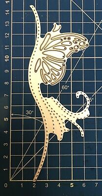 Brand New Stitched Detail Butterfly Border Die Cutter Up Seller