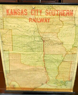 ORIGINAL VINTAGE MAP of Kansas City Southern Railway from 1914 ... on louisville and nashville railroad, central pacific railroad map, burlington northern railroad map, class i railroad, canadian pacific railway limited, new york central railroad map, central of georgia railroad map, rio grande railroad map, via rail, soo line railroad, kansas city streetcar, union pacific railroad, kansas city terminal railroad map, canadian national railway company, kansas weather map, southern belle, csx corporation, illinois central railroad, mississippi county map, southern railway, burlington route railroad map, baltimore and ohio railroad map, atlantic coast line railroad, lehigh valley railroad map, east broad top railroad map, grand trunk western railroad, penn central railroad map, i-70 kansas map, gulf, mobile and ohio railroad, norfolk southern railway, pan am railways, burlington northern railroad, union pacific railroad map, sydney train map, csx transportation, kansas city train, texas mexican railway, rock island railroad map,