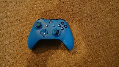 Xbox one Official microsoft wireless controller blue (faulty )