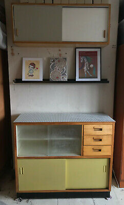 Rare Vintage Mid Century Kandya Trimma cabinet Sideboard by Frank Guille