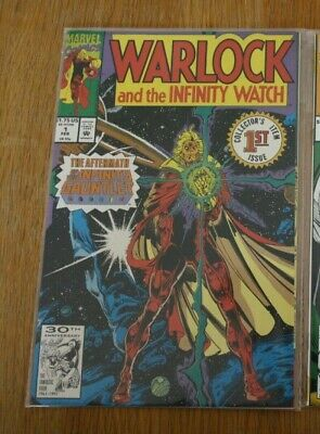 Marvel comic - Warlock and the Infinity Watch Collectors Item 1st Issue - NEW