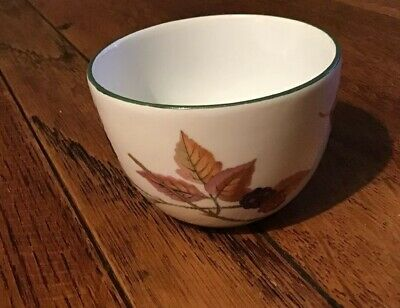 Royal Worcester Evesham Vale Small Sugar Bowl