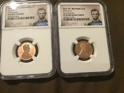 BLUE Label 2019 W Proof Lincoln Penny Cent West Point NGC RD PF UC 69 ER