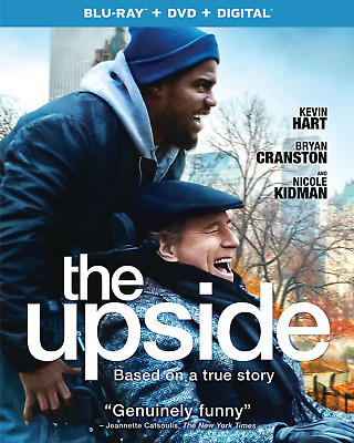 The Upside (Blu-Ray + DVD) New 2019 *Kevin Hart* *Bryan Cranston* ~FREE SHIP~