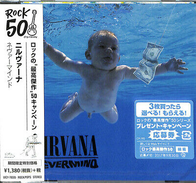|221457| Nirvana - Nevermind (Japan Import) [CD] |Nuovo|