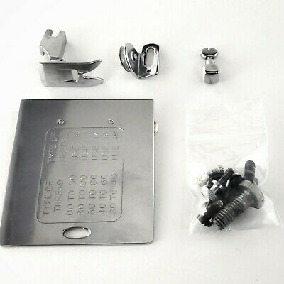 Dressmaker 240B Deluxe PARTS - Attachments (Slide Plate, Misc Screws, Foot, etc)
