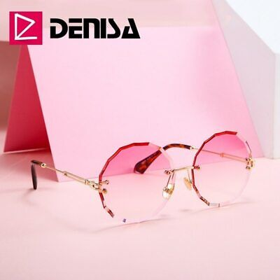 Retro Steampunk Vintage Round Women Sunglasses Men Fashion Denisa jRLq354A