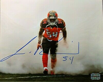 55d56b0197afe LAVONTE DAVID AUTOGRAPHED Tampa Bay Buccaneers White Jersey JSA ...