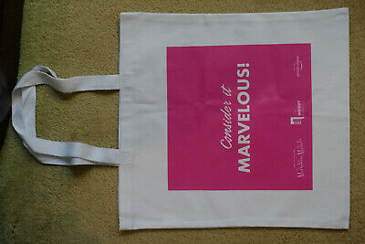 Brand New The Marvelous Mrs. Maisel Promotional Tote Bag