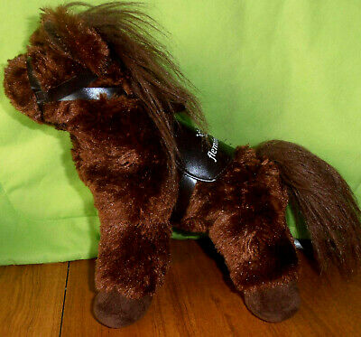 VRC RACE HORSE PLUSH OFFICIAL PRODUCT  - 34cm - A WINX LOOKALIKE SOFT PLUSH